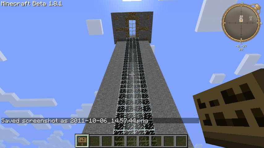 2 Floor 2x1 Car Piston Elevator Any Height Minecraft Project