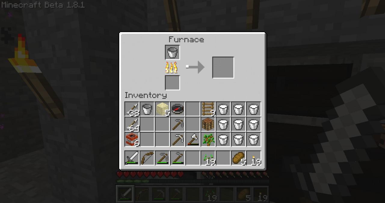 Bucket minecraft