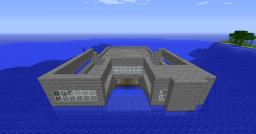 """Floating"" Mega-Mansion Minecraft Map & Project"