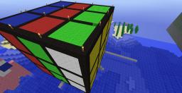 Huge Rubik's Cube Minecraft Map & Project