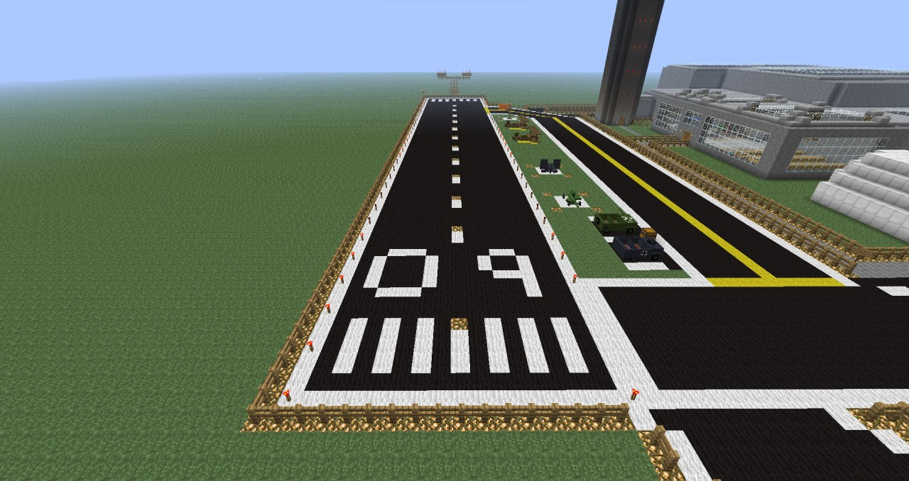 Airport For Planes Mod Minecraft Project