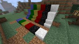 1.8.1 MARBLES with stairs and slabs Minecraft Mod