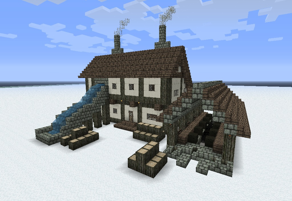 Medieval building pack minecraft project for Minecraft maison design