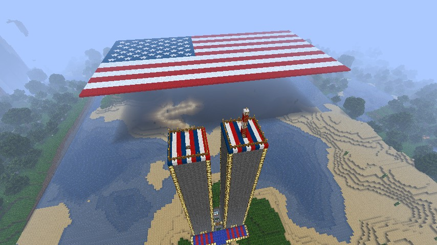 Tribute To The Victims Of 9 11 Minecraft Project