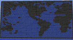 World Map Minecraft Project