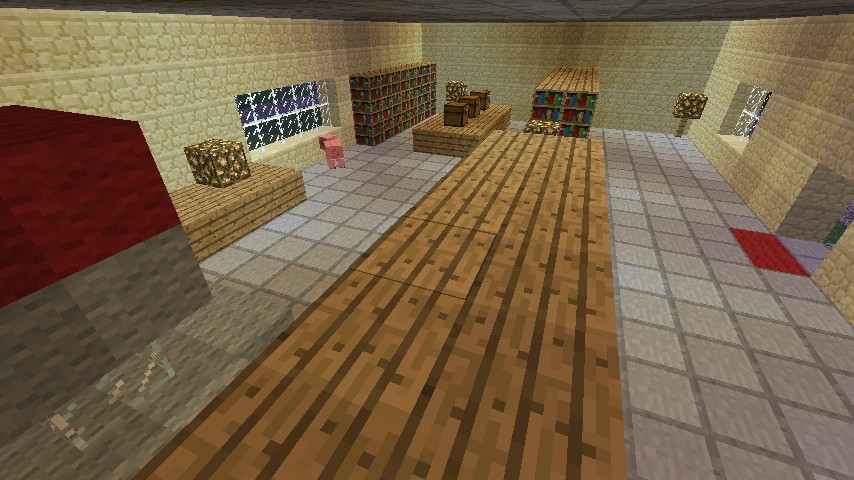 Oak's lab (With his pet pig =O)