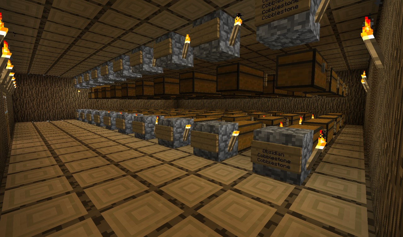 Upper Mass Storage Floor