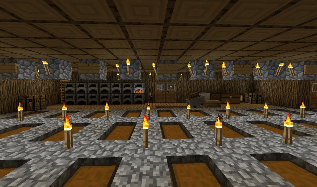 Inside dbl door view
