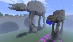 star wars at at Minecraft