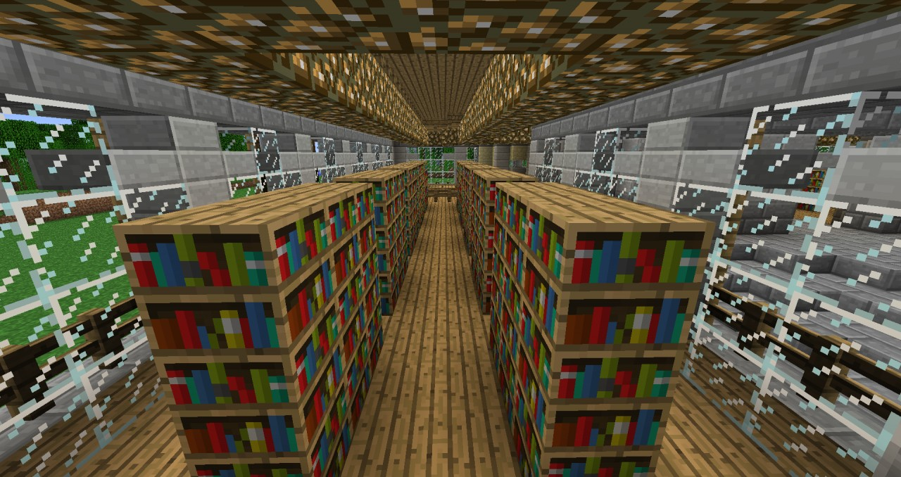 Small Library Minecraft