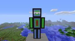 A 64 Block high model of me... Minecraft Map & Project