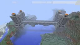 A bridge inspired by the great bridge of hylia. (updated) Minecraft Map & Project