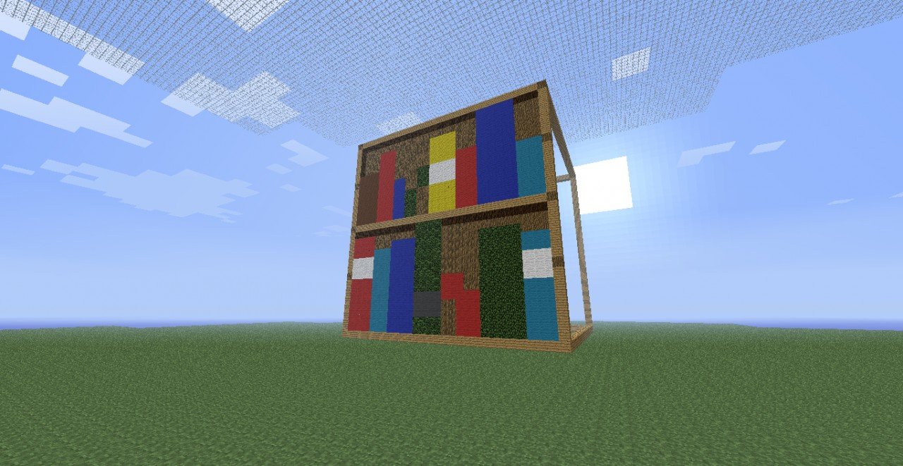 Bookshelf Minecraft Project