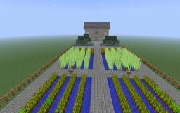 A Farm. Minecraft Map & Project