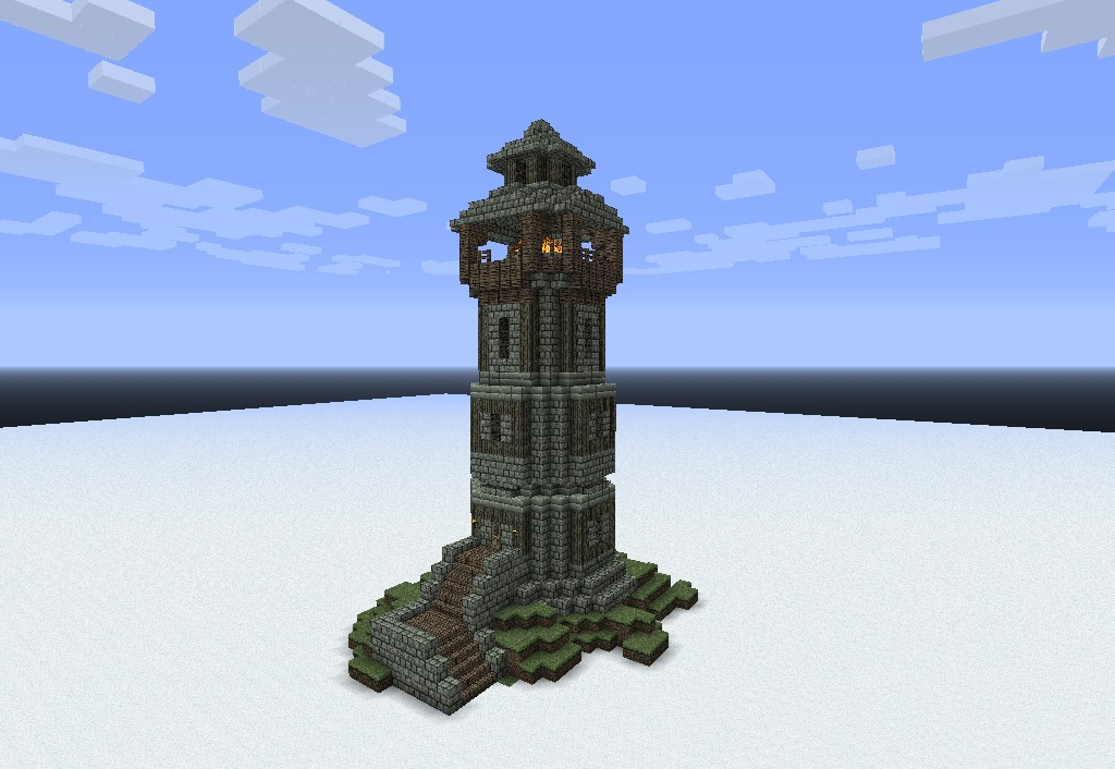 Medieval building pack schems and world dl minecraft project for Light house designs
