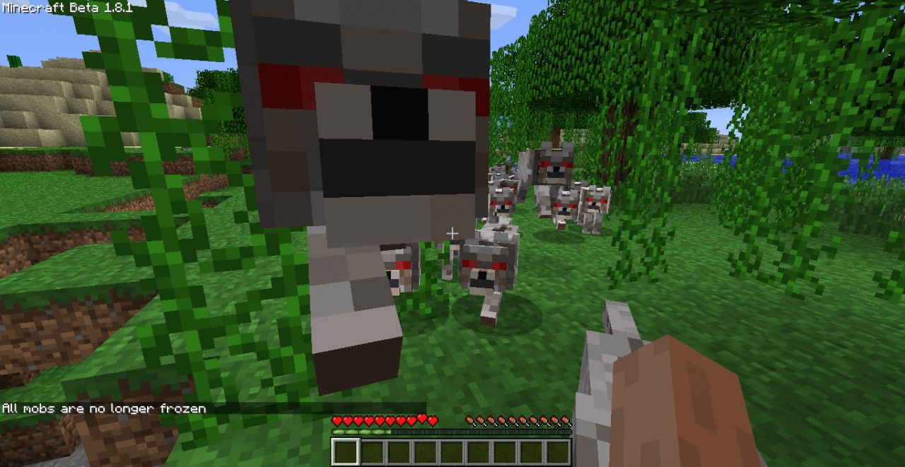 Survive The Angry Wolf Army Supa Challenge Minecraft Project