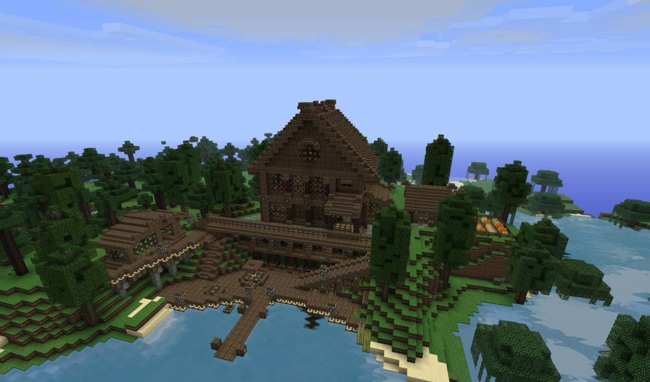 LARGE 3 story Mansion [64x64] live on server IP in post ...