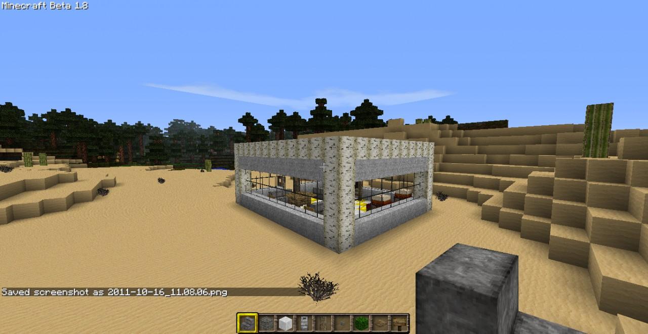 hi tech House Minecraft Project