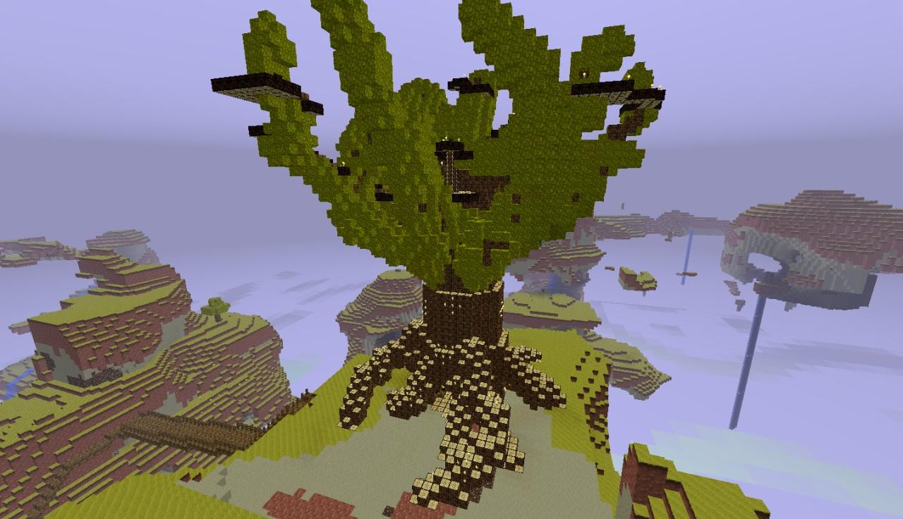 Super Tree Minecraft Project