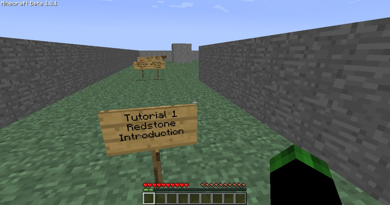 Redstone tutorial map minecraft project redstone tutorial map baditri Images