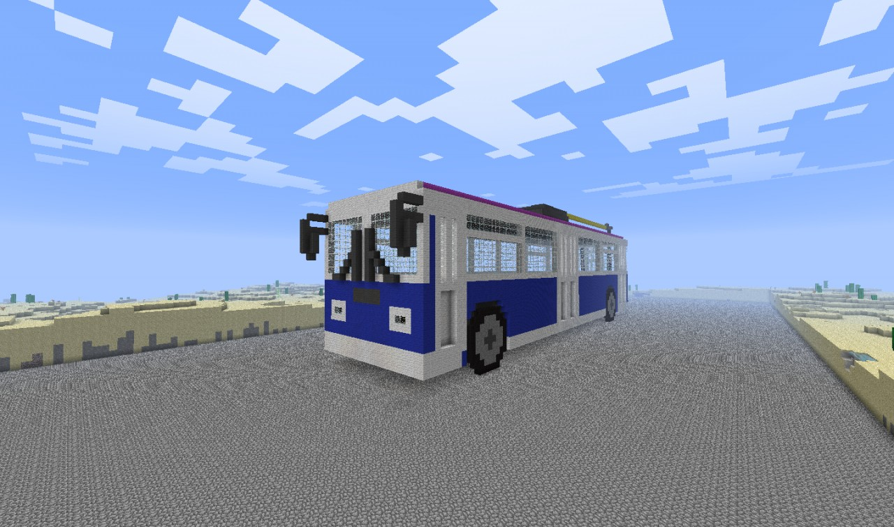 How to make a trolley in Minecraft 34