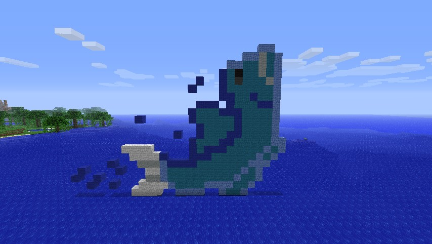 Jumping fish minecraft project for Minecraft fish skin