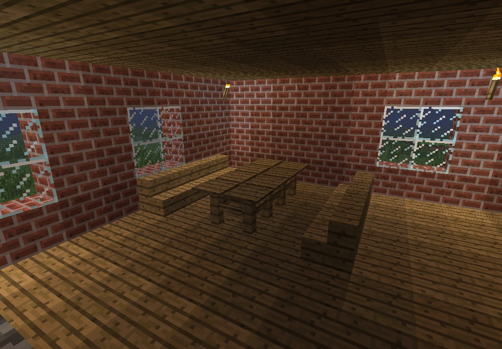 Minecraft manor minecraft project for Dining room minecraft