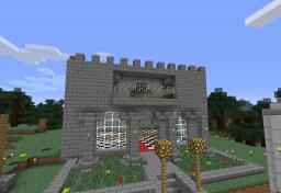 Hutteman's Castle Minecraft Map & Project