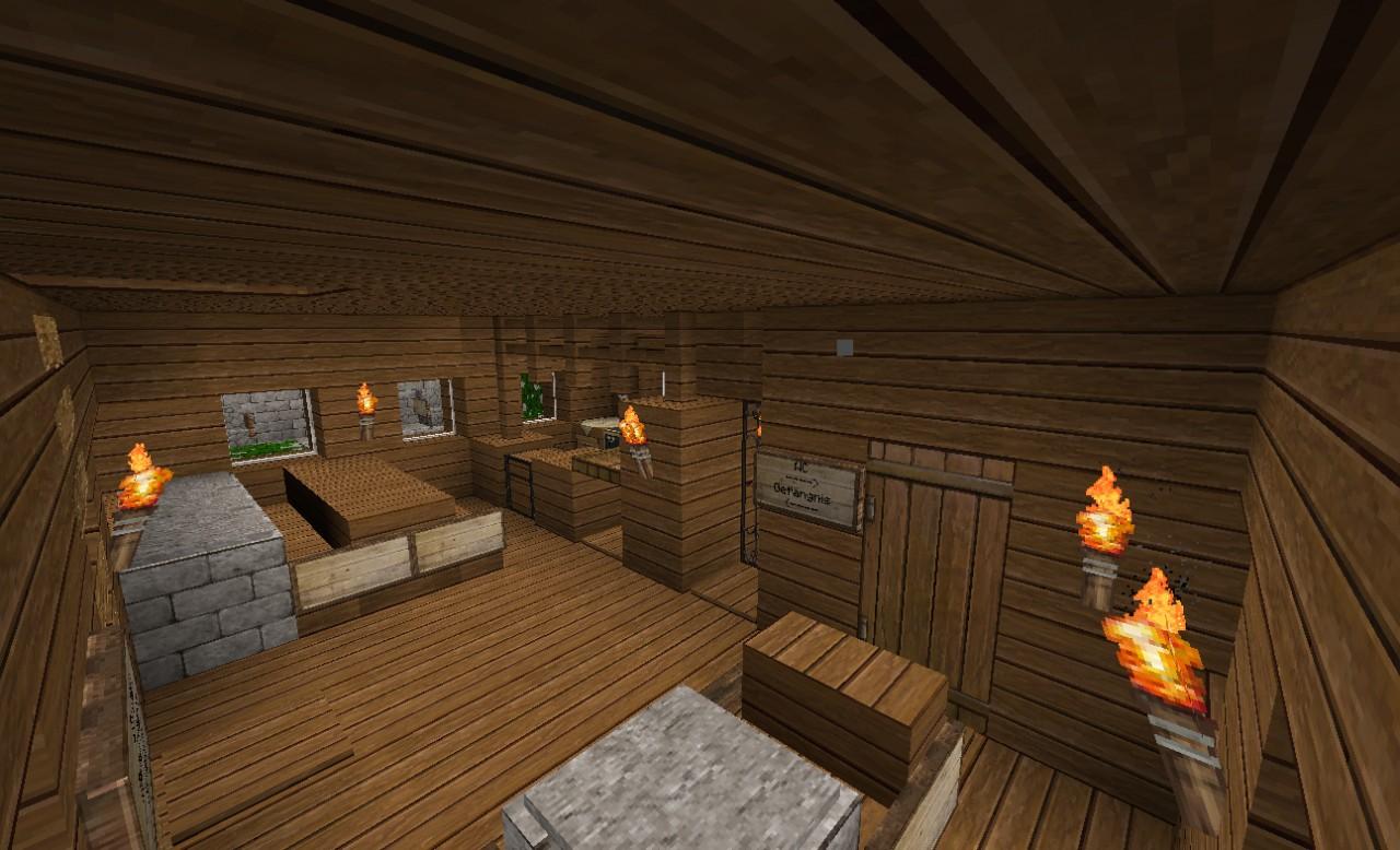 Castle and Nia-Lava-Falls Minecraft Project