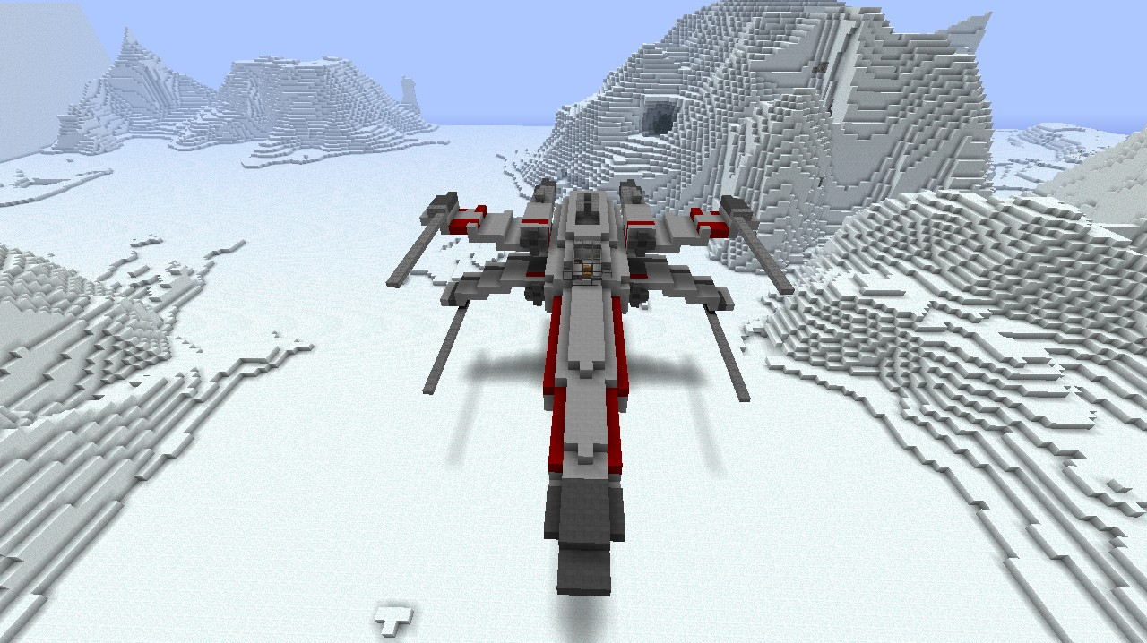 X-wing Minecraft Project