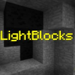 LightBlocks Minecraft Mod