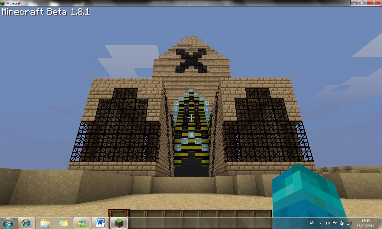 Sandy luxury hotel minecraft project for Luxury hotel project
