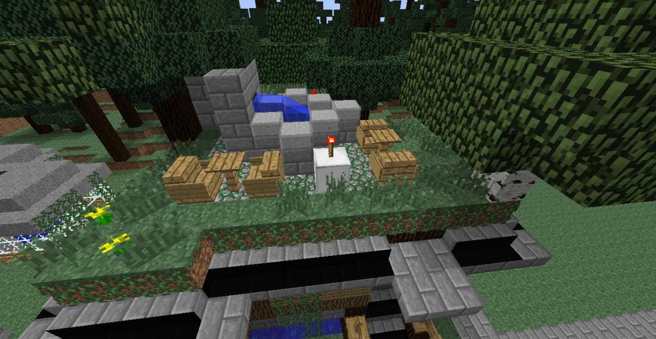 how to build a bunker in minecraft