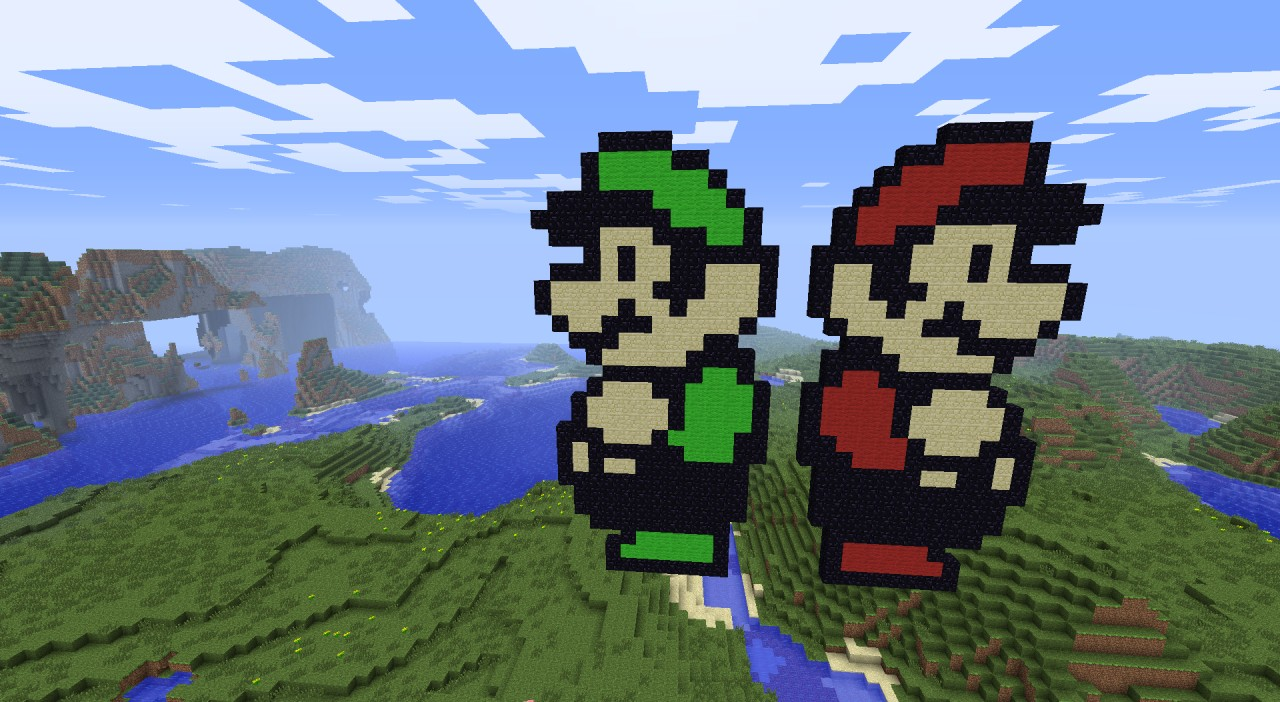 Mario And Luigi Super Mario Bros 3 Minecraft Map