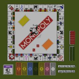 Monopoly Game Set Minecraft