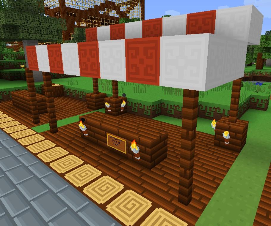 Market Stalls Minecraft Project