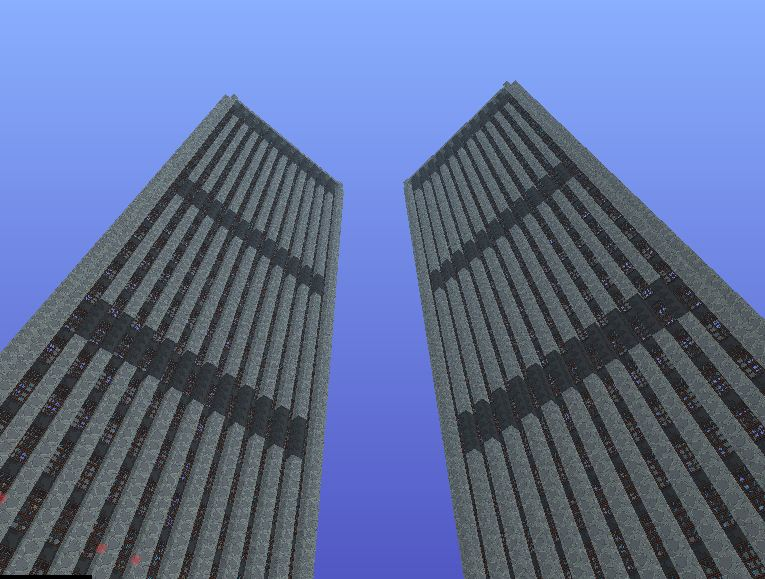 World Trade Center Minecraft Project