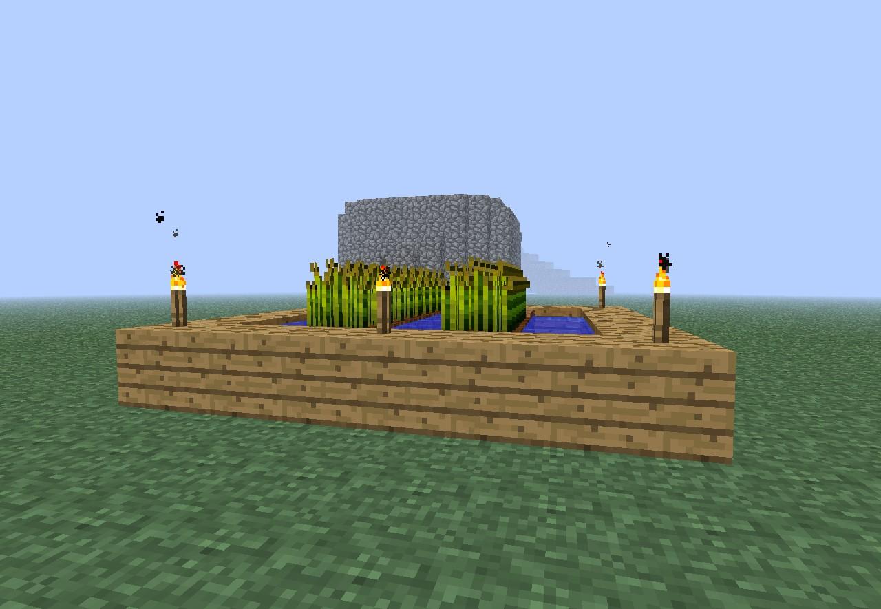 Minecraft Wheat Custom Village - Wheat...