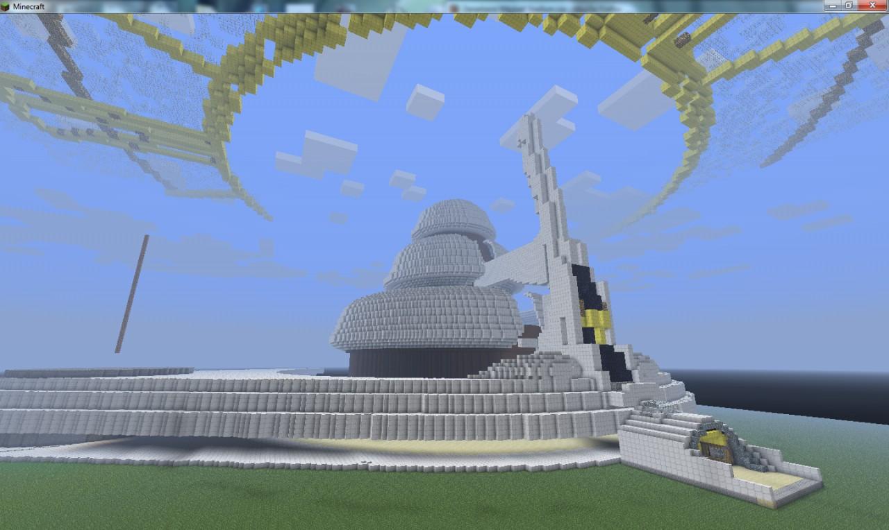 Balamb Garden 20 Minecraft Project Schematic