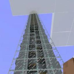 Elevator with Pistons Minecraft Map & Project