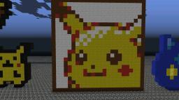Pikachu mugshot Minecraft Map & Project
