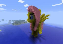 Fluttershy (Lost Schematic) Minecraft Map & Project
