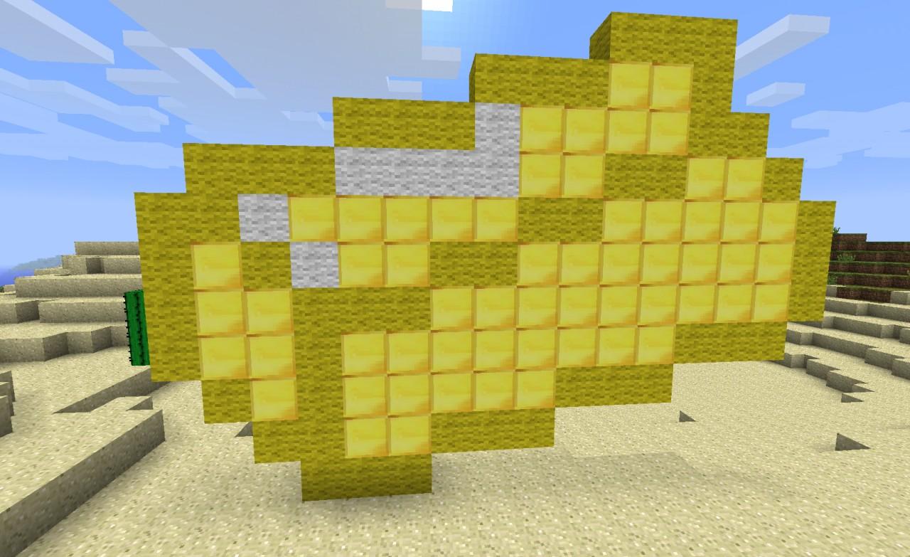 gold ingot pixel art