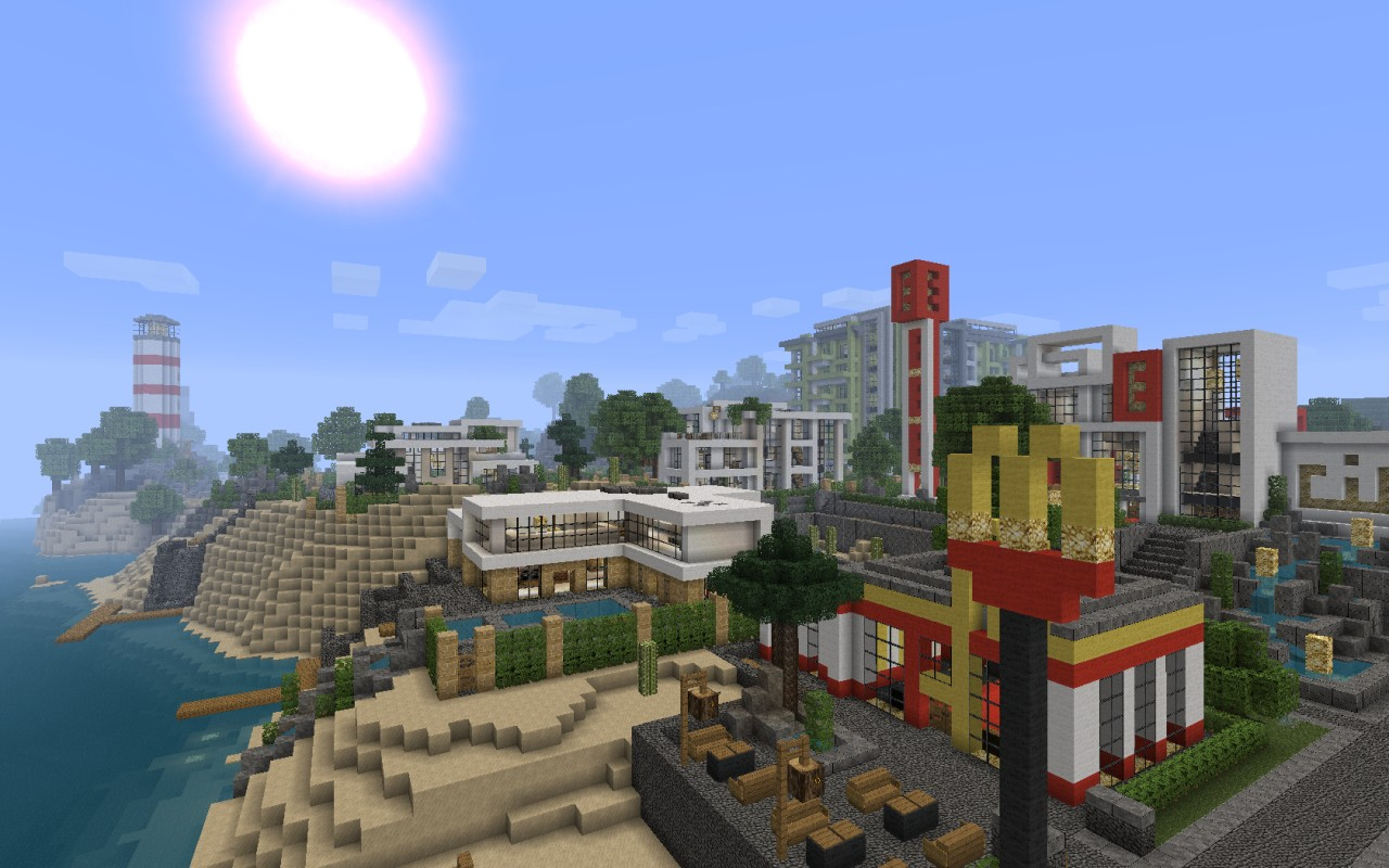 Charming World Of Keralis   Making Minecraft Epic! Modern City