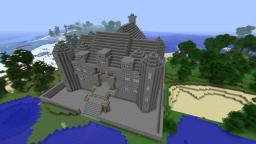 Chenonceau inspired Castle. Minecraft Map & Project