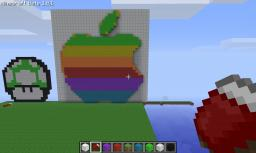 Apple Logo Minecraft