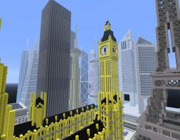 Four Continental Capital City (Please Comment) Minecraft Map & Project