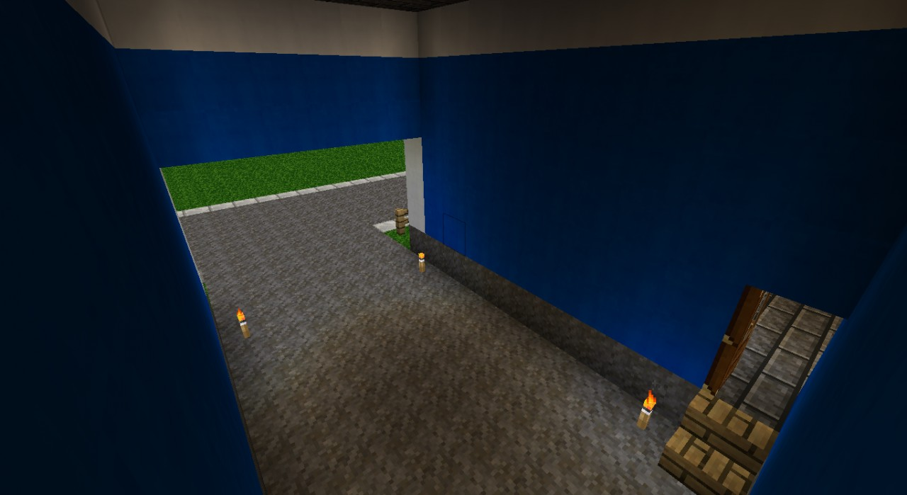 Blue Cliff House Minecraft Project