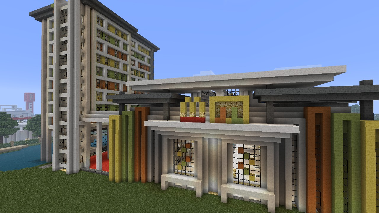 how to create a town in minecraft