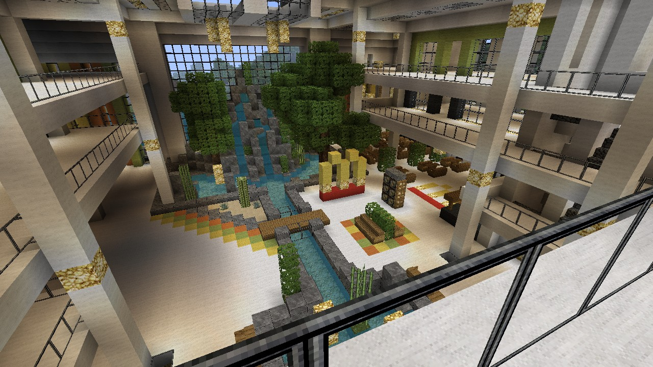 Modern mall wip beach town project minecraft project for Craft com online shopping